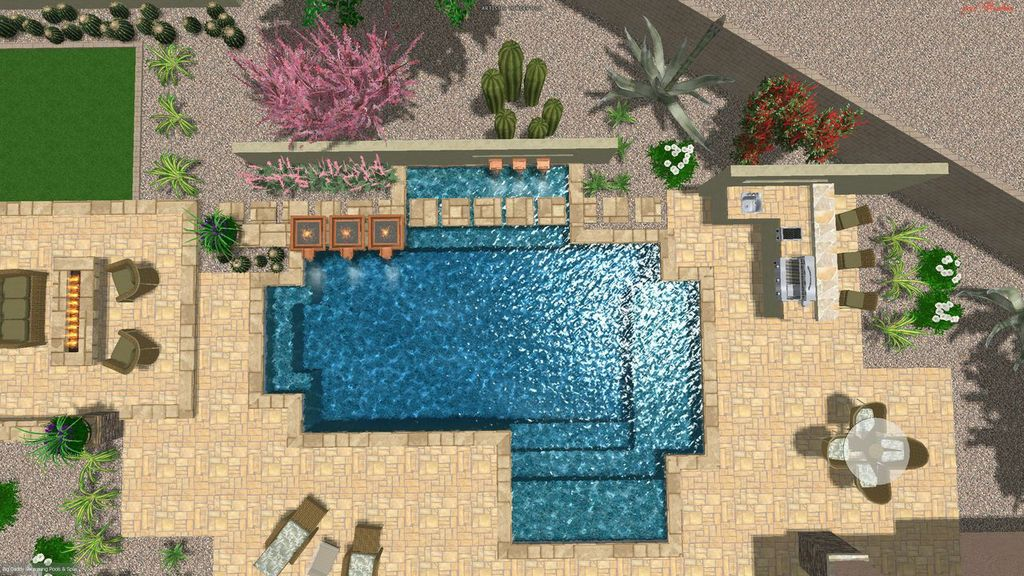 Build The Custom Dream House For Your Life Design My Arizona Pool See What Your Dream Pool Will Look Like