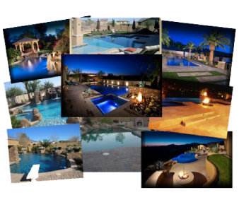 Arizona pools view the recent arizona dream pools that for Pool builders in az
